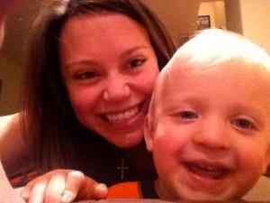 Tyler and Aunt Gena